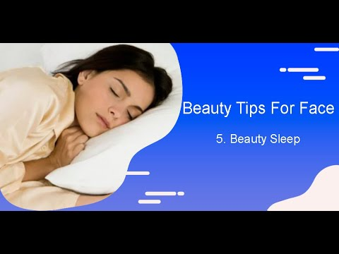 Qvid Vlogs Beauty Tips For Face 5 Beauty Sleep