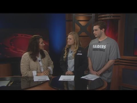 Randall High School students join News at Noon