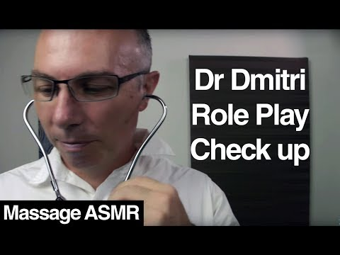 ASMR Dr Dmitri General Check Up Role Play