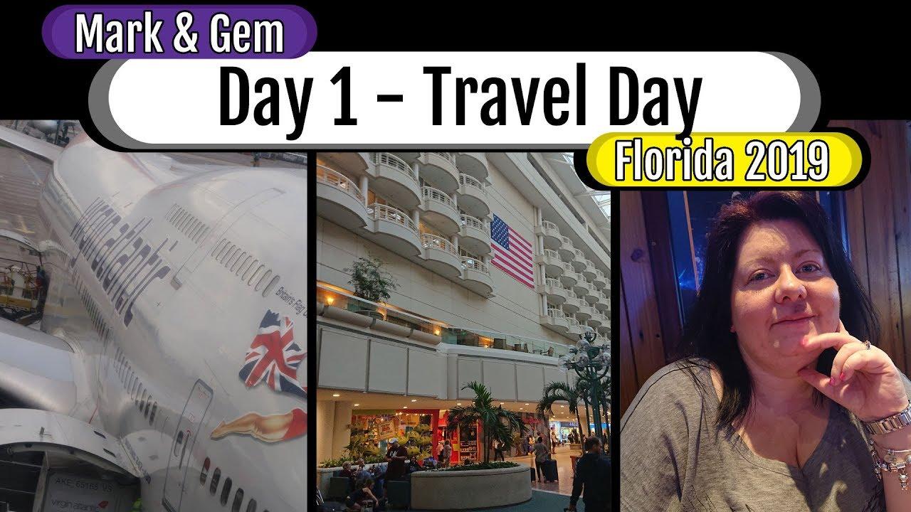 Florida 2019 - Travel Day