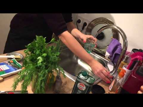 Легкий рецепт Roasted pumpkin with quinoa and feta cheese