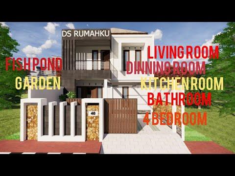 desain-rumah-minimalis-dua-lantai-6x12-meter-4-kamar-tidur