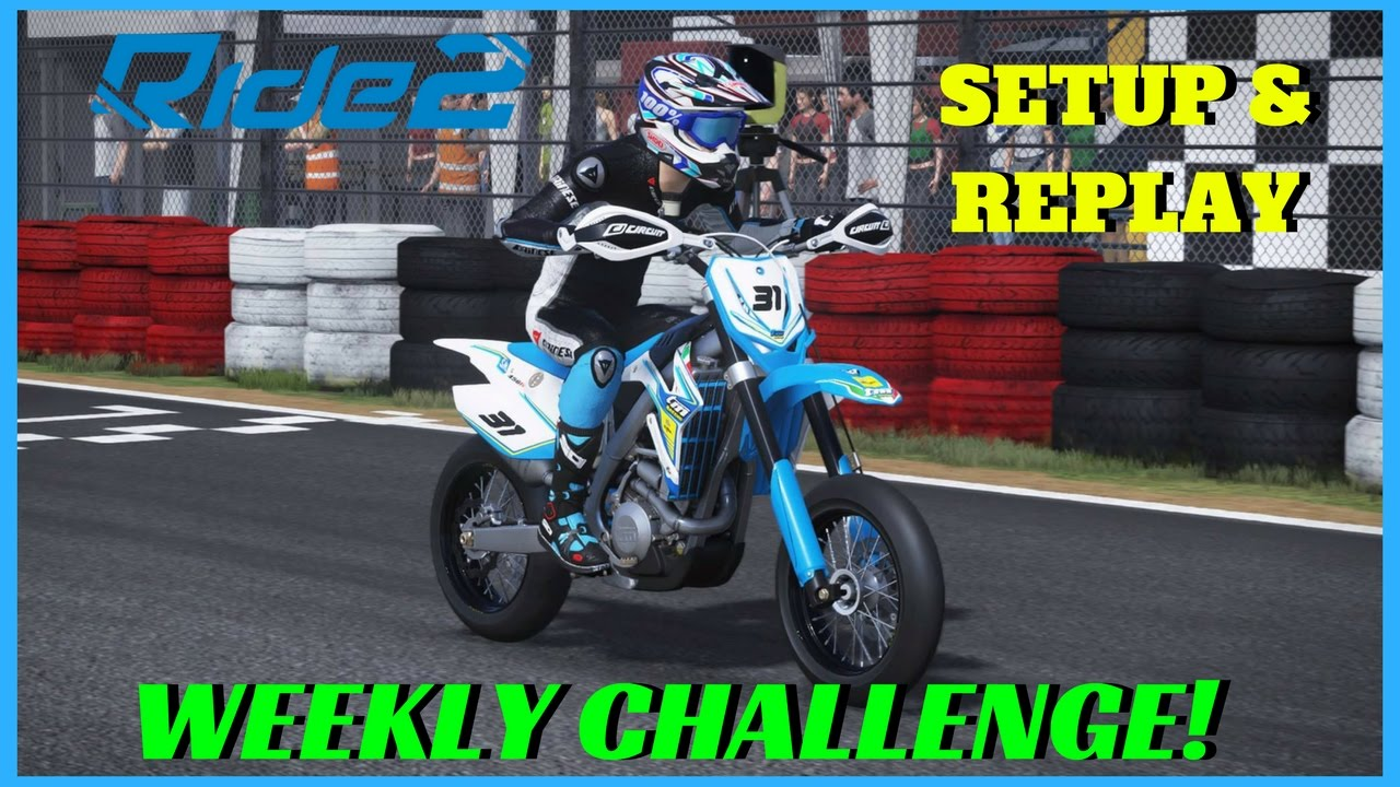 ride 2 ps4 pro gameplay weekly challenge tm racing. Black Bedroom Furniture Sets. Home Design Ideas