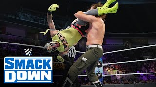 Rey Mysterio vs Sami Zayn King of the Ring Tournament First Round Match SmackDown Oct 8 2021