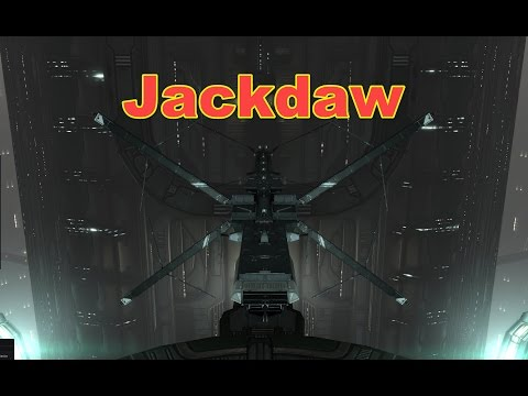Jackdaw Faction Warfare - EVE Online Live Presented in 4k