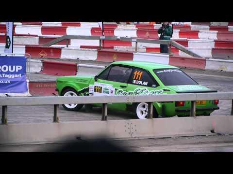 Geoffrey Dolan Mk2 Escort Circuit Of Ireland Intercontinental Rally Challenge Belfast