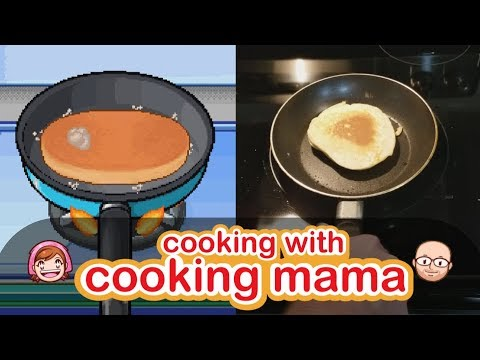 Pancakes (Hotcakes) | Cooking With Cooking Mama!