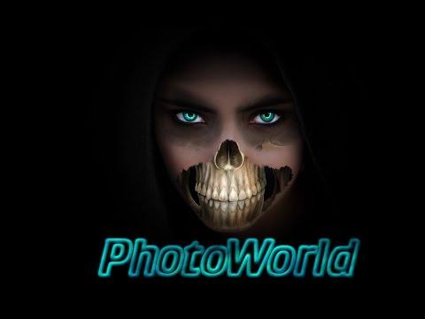 Photoshop Tutorial  Skelett Gesicht