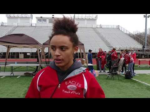 #NHtrack Geneva's Cheyanne Santiago discusses team title at Red Raider Relays