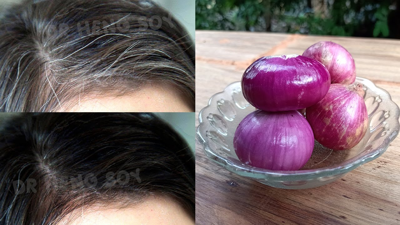 white hair to black naturally and shiny hair permanently with this simple way 100% work at home