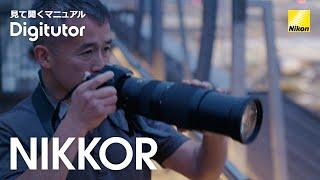 Digitutor | 超望遠ズームレンズを使って飛行機を撮影する【ニコン公式】