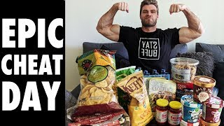 Buff Dudes Epic CHEAT MEAL Day Challenge!