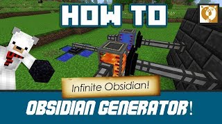 Obsidian Generator!! - [Minecraft 1.10.2] Bear Games How To