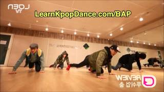 b a p s push up dance