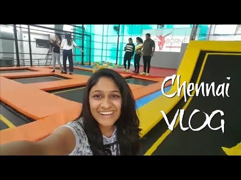 Chennai Vlog 1- Best local places to visit|Travel with Panchi