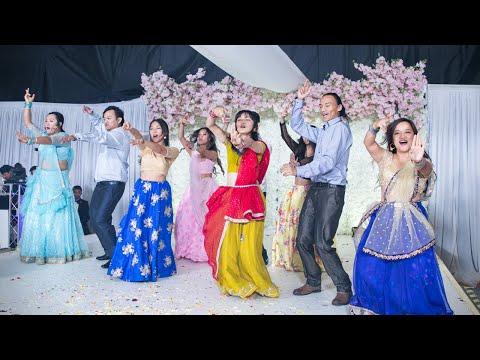 Yani Maya / Aankha Marey - Team London | UK Nepali Wedding Dance