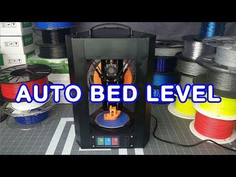 Monoprice Mini Delta Beta Test Unit Auto Level Test Print