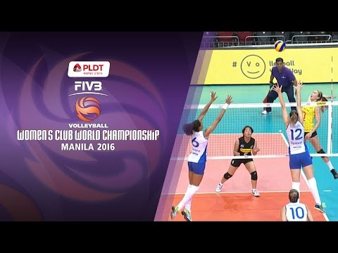 PSL - F2 Logistics vs. Rexona - Sesc Rio - Full Game | FIVB Women's Club World Championship 2016