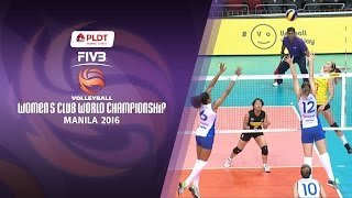 PSL - F2 Logistics vs. Rexona - Sesc Rio - Full Game | FIVB Women's Club World Championship 2016