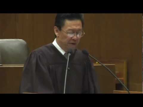 Judge Edward M. Chen Confirmation Ceremony (Full Length)