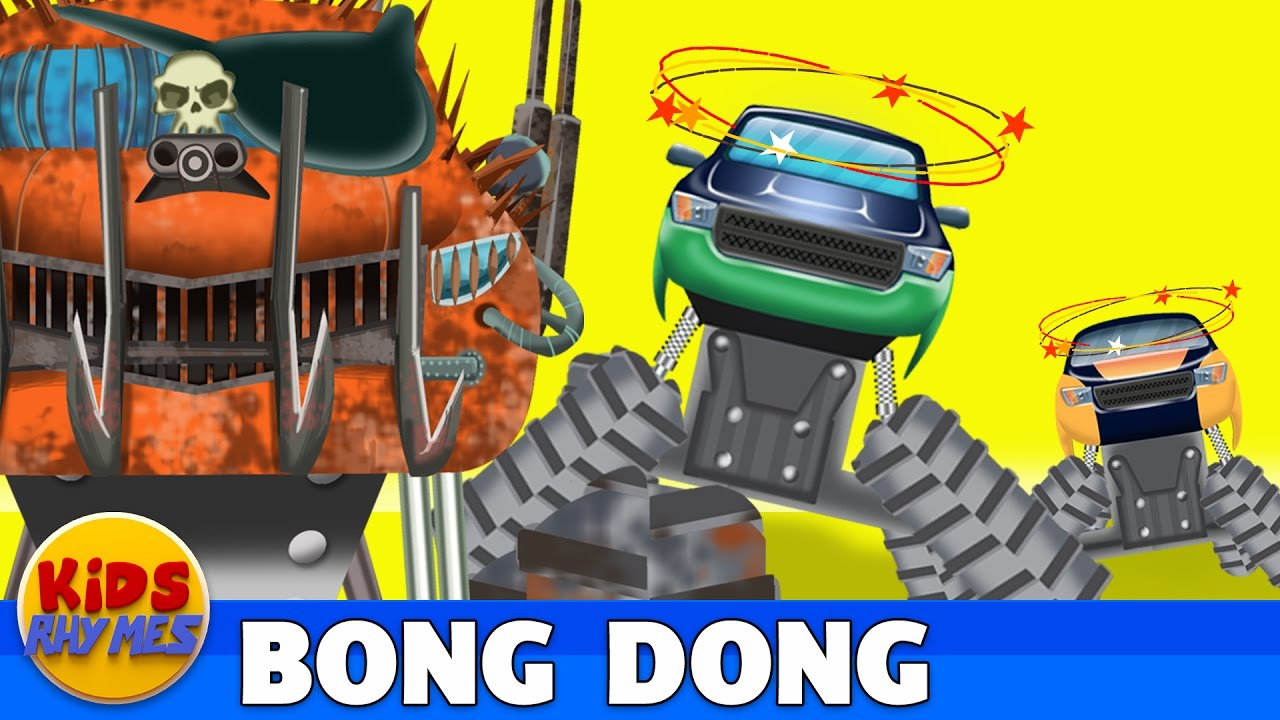 bong-and-dong-monster-trucks-police-chase-video-for-kids