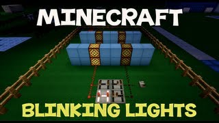 Minecraft Tutorial: How To Make Blinking Lights