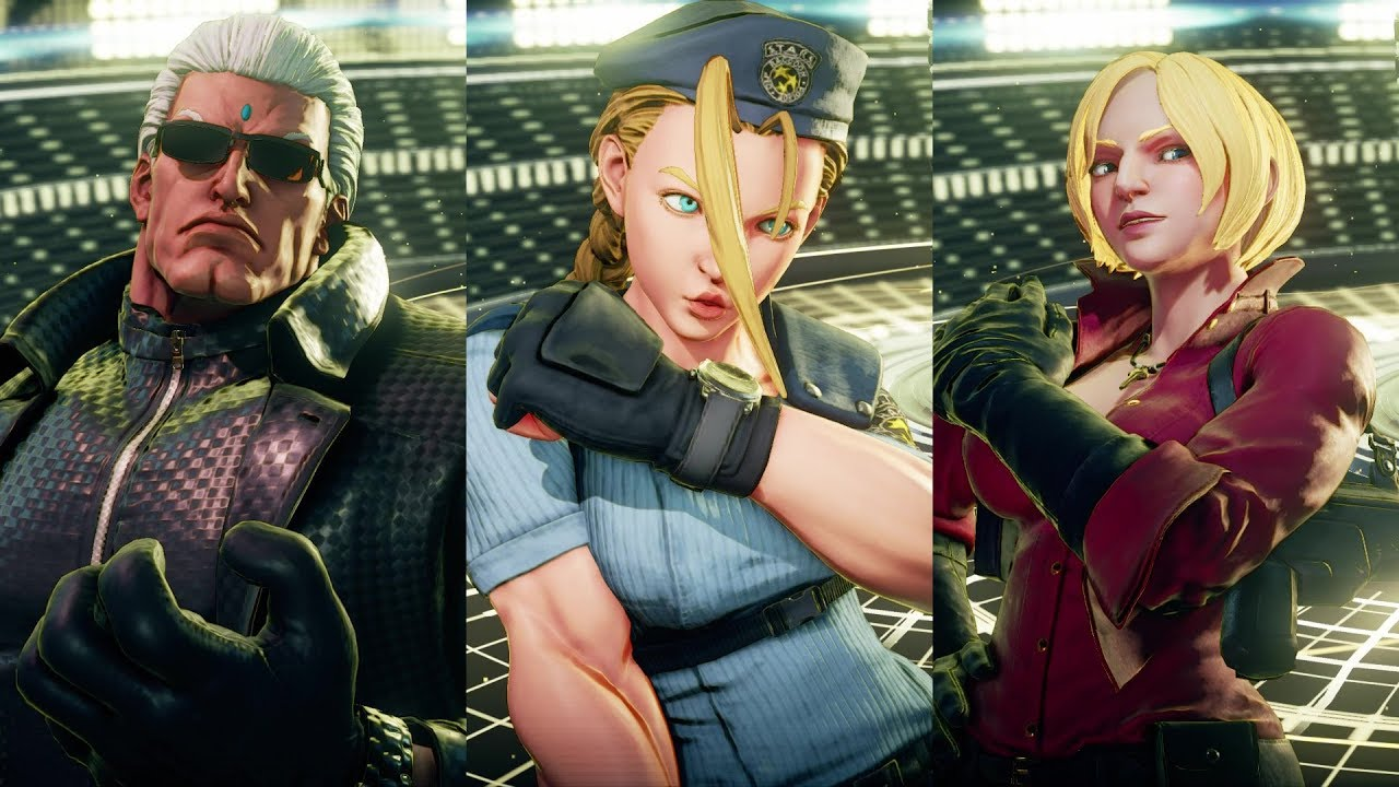 CHAOS PRODUCTIONS INC - Street Fighter 5 AE - Resident Evil DLC Costumes
