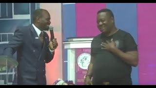 Mr Ibu  said Prophet Samuel Akinbodunse is not a human being but a spirit  Watch why