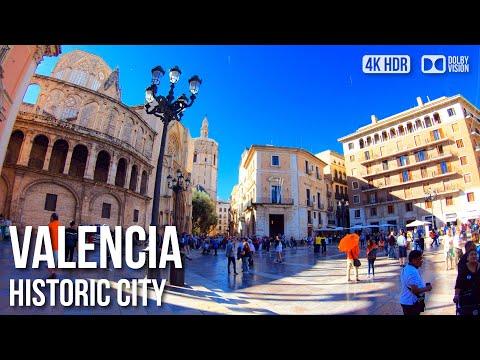 VALENCIA - SPAIN   Ciutat Vella 'Historic Town' Travel Guide & Walking Tour 【4K】