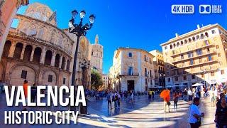 Valencia Historic Town - 🇪🇸 Spain - 4K Virtual Tour