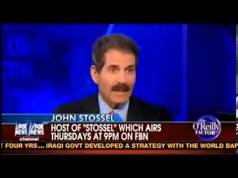 Bill O'Reilly vs John Stossel on Gun Control