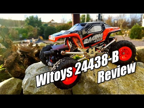 Wltoys 24438 B 1 24th Scale Mini Rc Rock Crawler Review In-depth Inspection and Test Drive