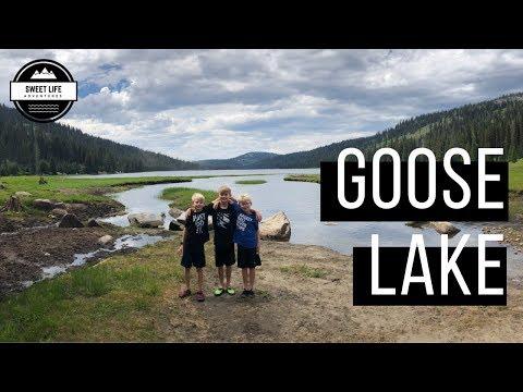 Goose Lake Idaho   Camping, Fishing, Hike To Goose Creek Falls And The Hazard Lakes