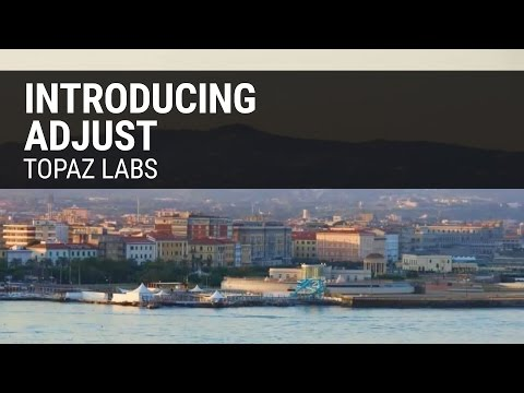 Introduction to Topaz Adjust - Make Your Photos Pop! - YouTube