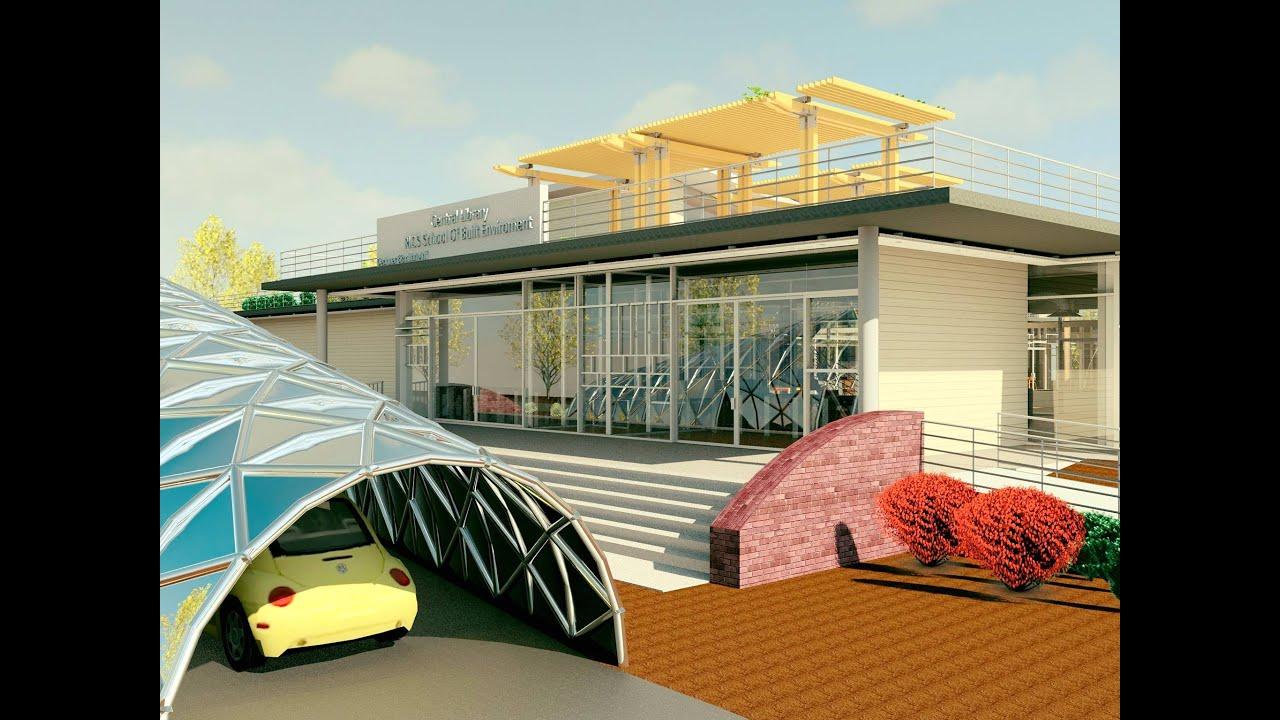 Library Design Autodesk Bim Design Competition 2015 India Design By Bismillah Arif
