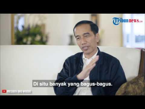 Jawaban Kocak Jokowi Soal Grup Band Rock Indonesia yang Disukainya