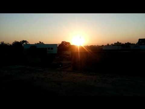 Timelapse of Sunset - Sinnar, Nashik, India.