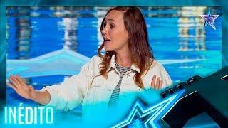 ¡INCREÍBLE! ¡Esta MAGA es CAPAZ de VIAJAR por el TIEMPO! | Inéditos | Got Talent España 5 (2019)