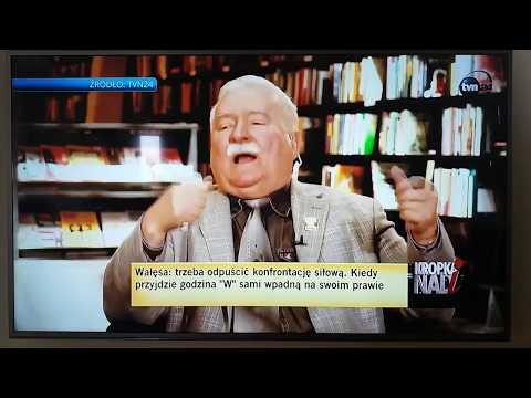 Lech Wałęsa się wysypał przypadkiem u pani Olejnik