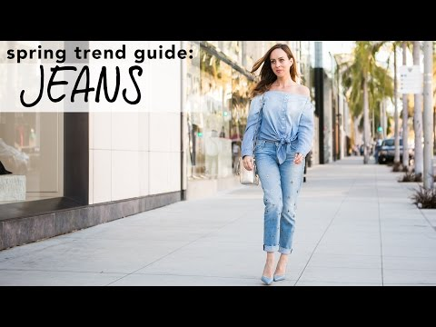 How To Wear JEANS I Spring Trend Guide