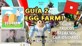 Egg Farm Simulator UPDATE, TROPHY Box y Deviled Egg Speed x900%, Roblox Español Guía Tutorial 2