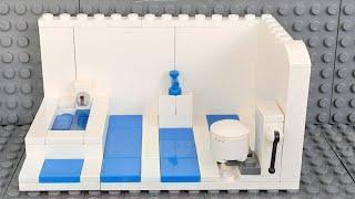 Ванная комната из лего.