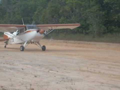 Maule M4 landing & TakeOff