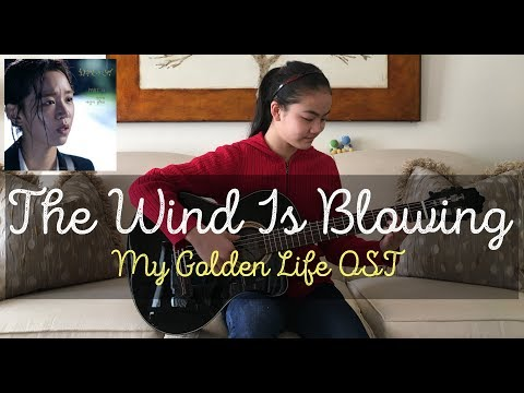 The Wind Is Blowing by Park Sun Ye ~ My Golden Life OST Part 4 | Fingerstyle Guitar Cover by Lanvy
