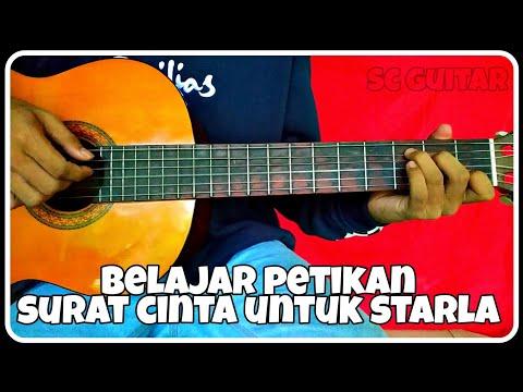 Chord gitar (VIRGOUN-SURAT CINTA UNTUK STARLA) petikan mudah