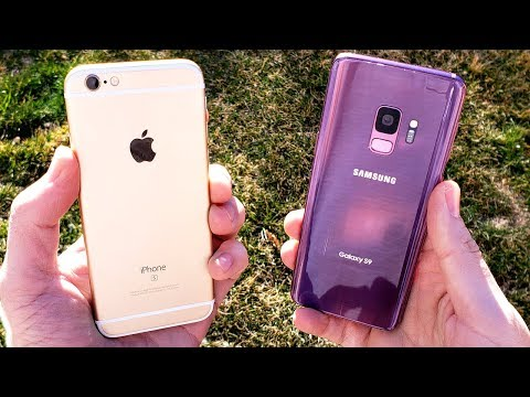 iPhone 6S vs Galaxy S9 The Truth...