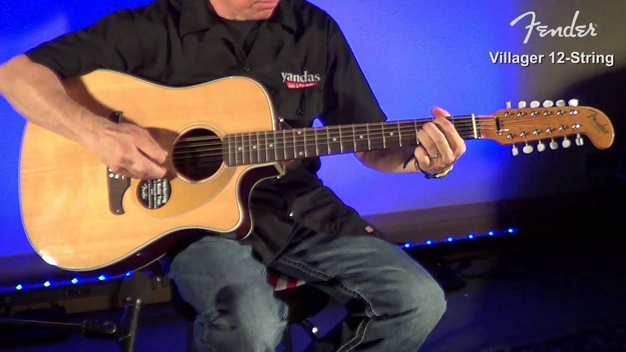 fender villager 12 string acoustic guitar review yandasmusic Fender 12 String Guitar fender villager 12 string acoustic guitar review yandasmusic youtube