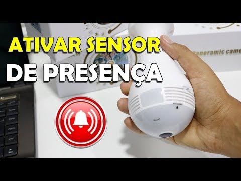 WiFi LAMP CAMERA ENABLING PRESENCE SENSOR AND ALARM