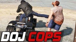 Dept. of Justice Cops #358 - Street ATV