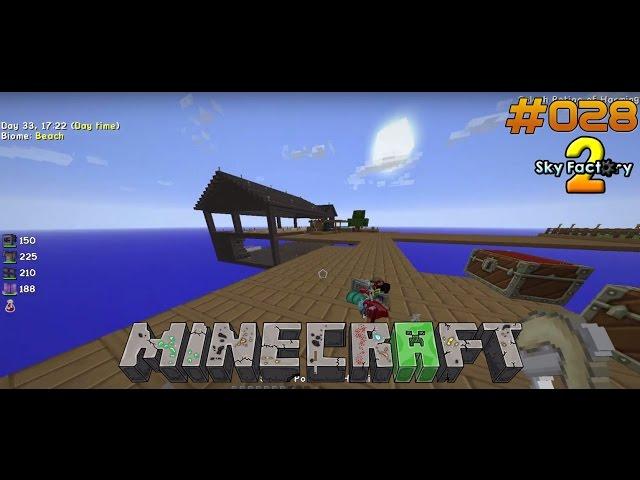 Let's Play Minecraft Sky-Factory 2 | Loot-Bags durchsuchen nach Eisen | Folge #028